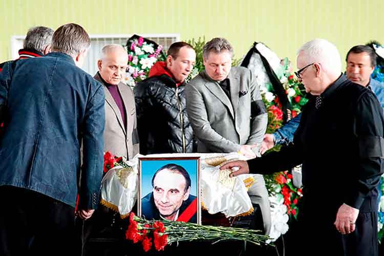 В Сокольниках попрощались с Валерием Глушаковым