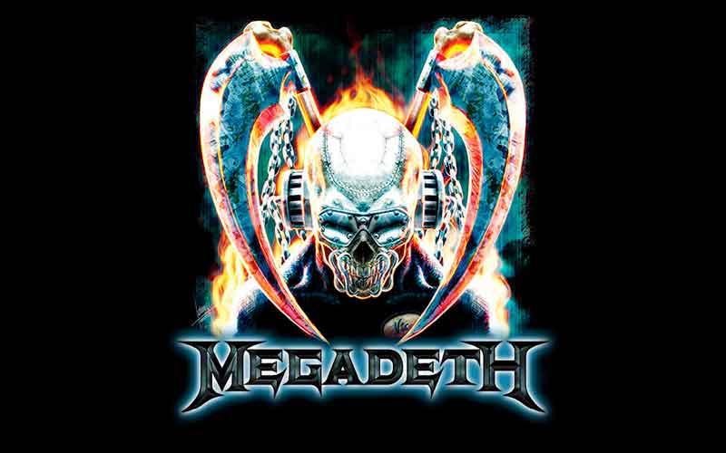 Закулисные съёмки видео MEGADETH