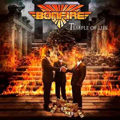 Текстовое видео на новый трек BONFIRE