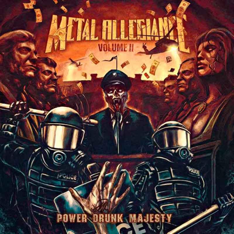 Трейлер новой работы METAL ALLEGIANCE