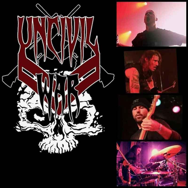 Ждем EP группы UNCIVIL WAR
