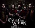 Новый альбом BLEED FROM WITHIN выходит в мае